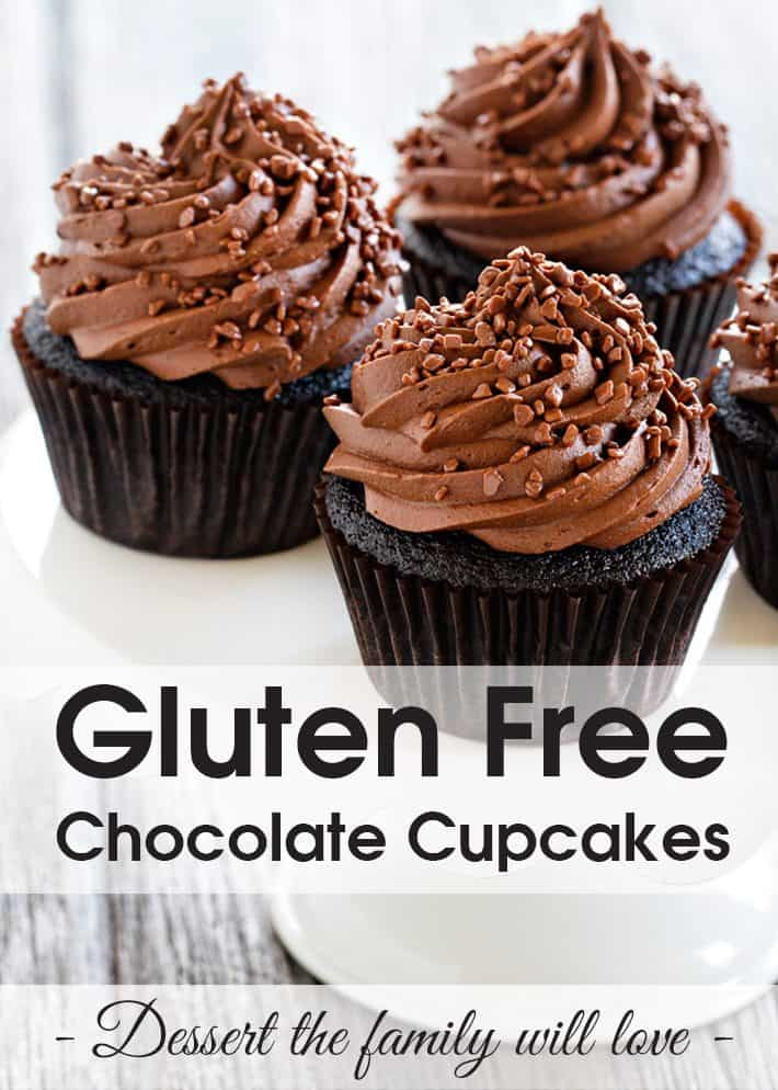Gluten Free Chocolate Cupcakes – Easy Dessert the Whole Family Will Love