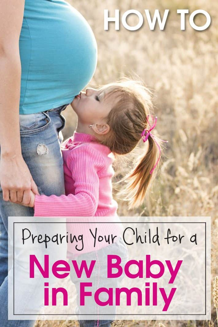 Preparing Your Child for a New Baby in Family