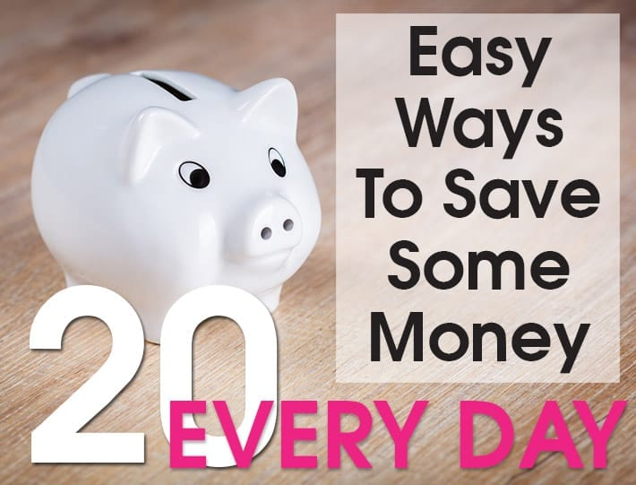 20 easy ways to conserve