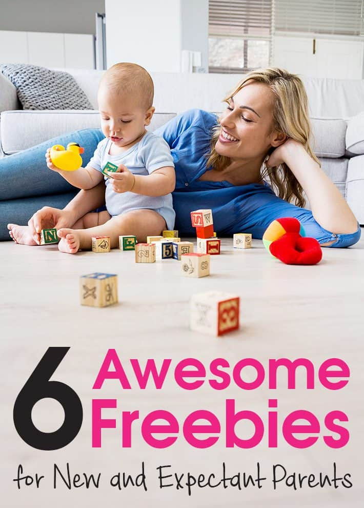 6 Awesome Freebies for New and Expectant Parents