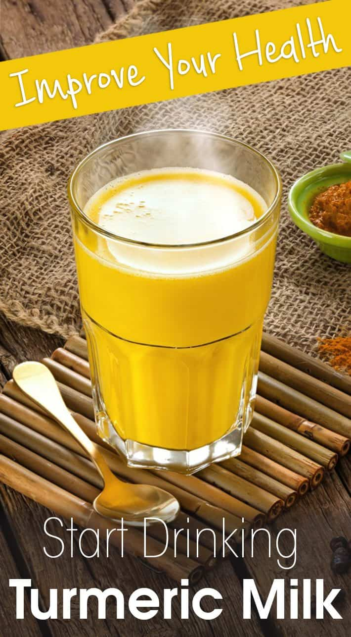 Improve Your Health: Start Drinking Turmeric Milk
