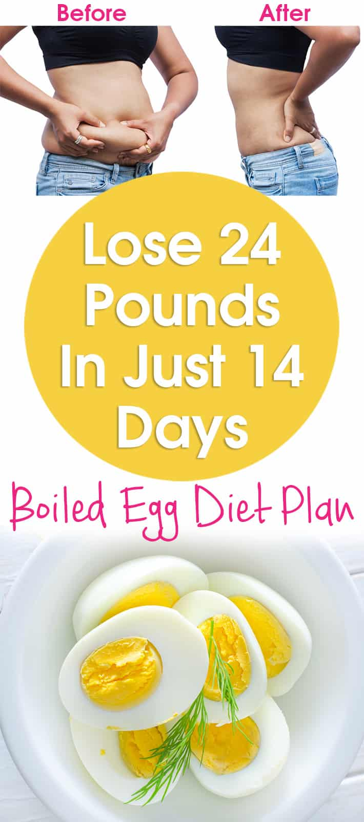 Lazy Girl:Lose 24 Pounds In Just 14 Days - Boiled Egg Diet ...
