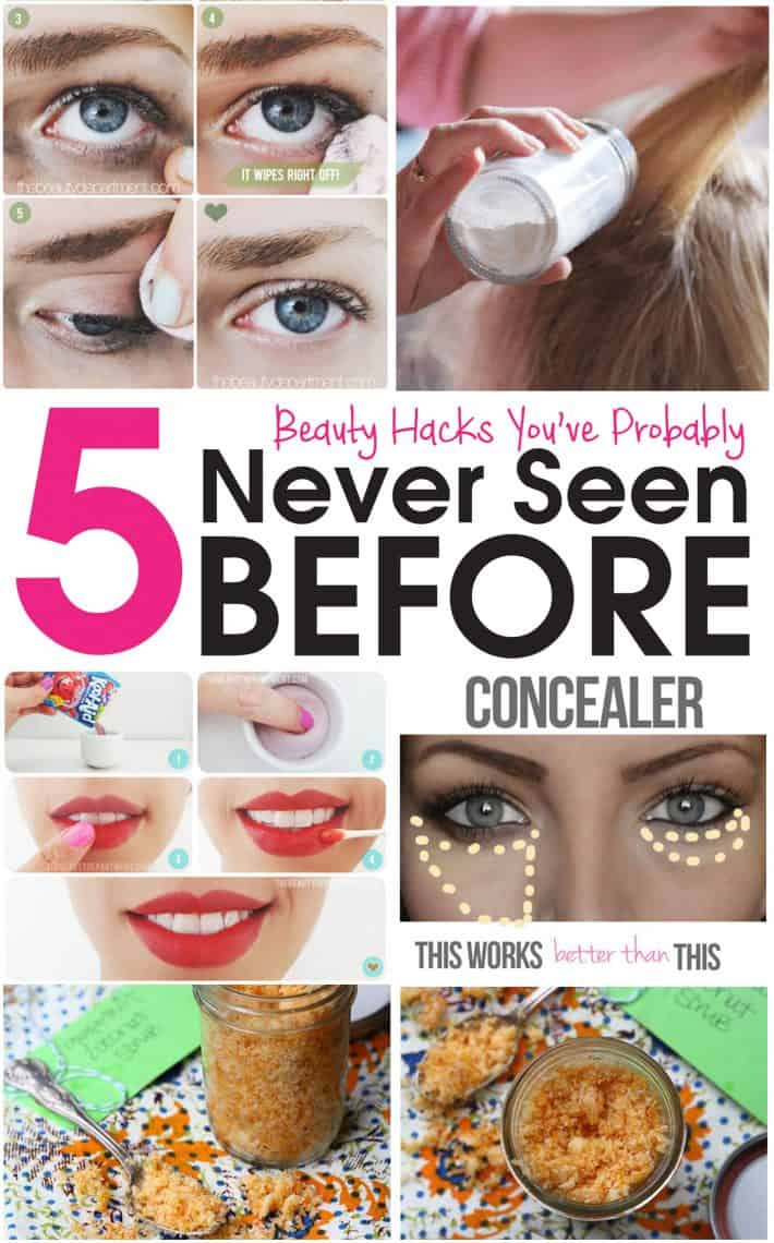 5 Beauty Tips You've Probably Never Seen Before