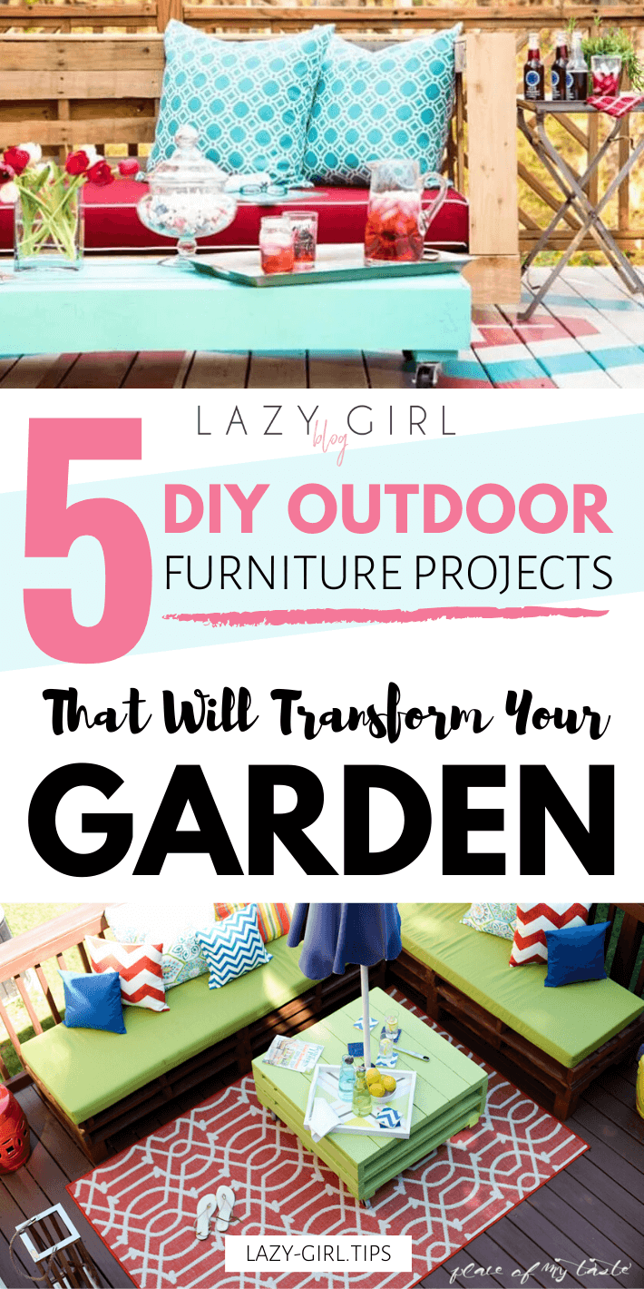 5 DIY Outdoor Furniture Projects That Will Transform Your Garden