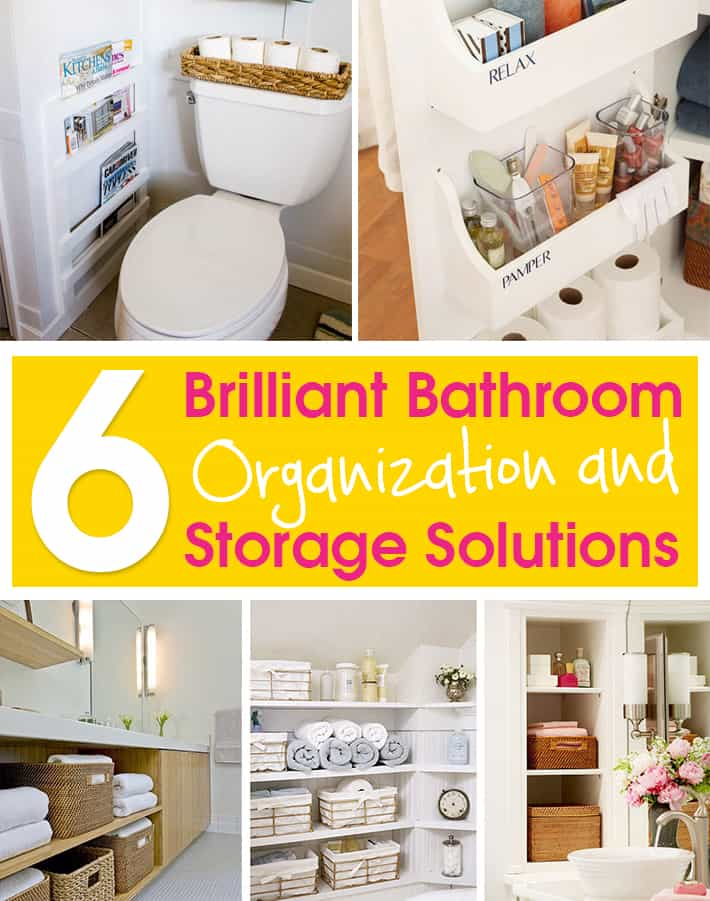 Lazy Girl 6 Brilliant Bathroom Organization And Storage Solutions Lazy Girl Tips