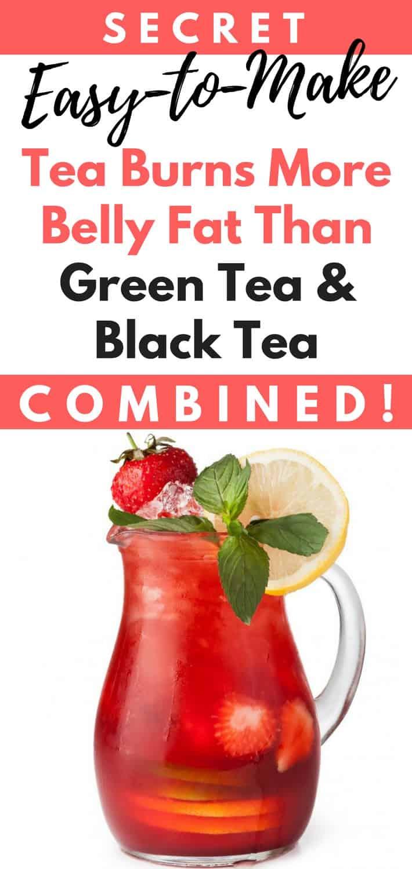 Secret, Easy-to-Make Tea Burns More Belly Fat Than Green Tea & Black Tea Combined!