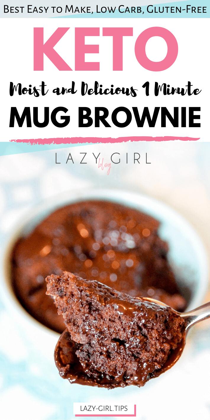 Best Healthy 1 Minute Keto Mug Brownie recipe