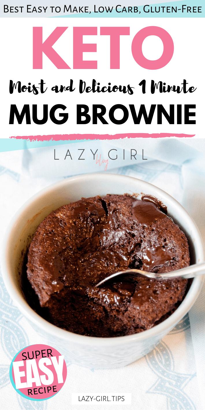 Best Healthy 1 Minute Keto Mug Brownie
