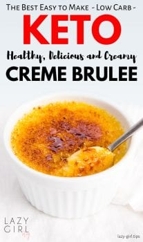 Best Healthy Keto Creme Brulee recipe