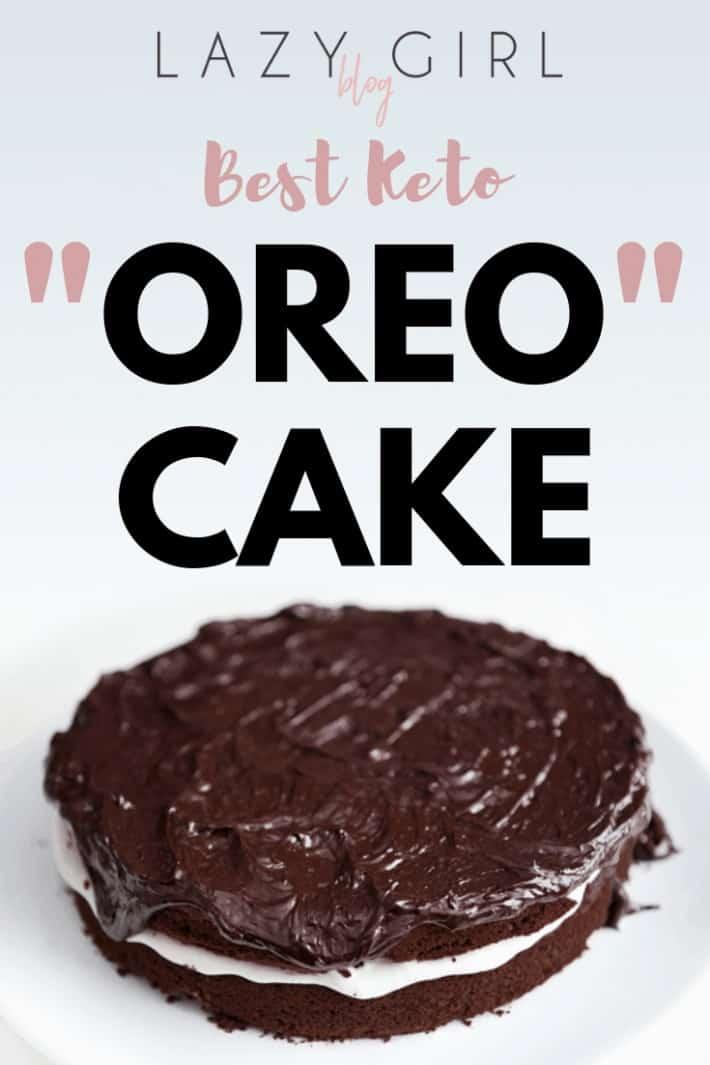 "Best Keto ""Oreo"" Cake"