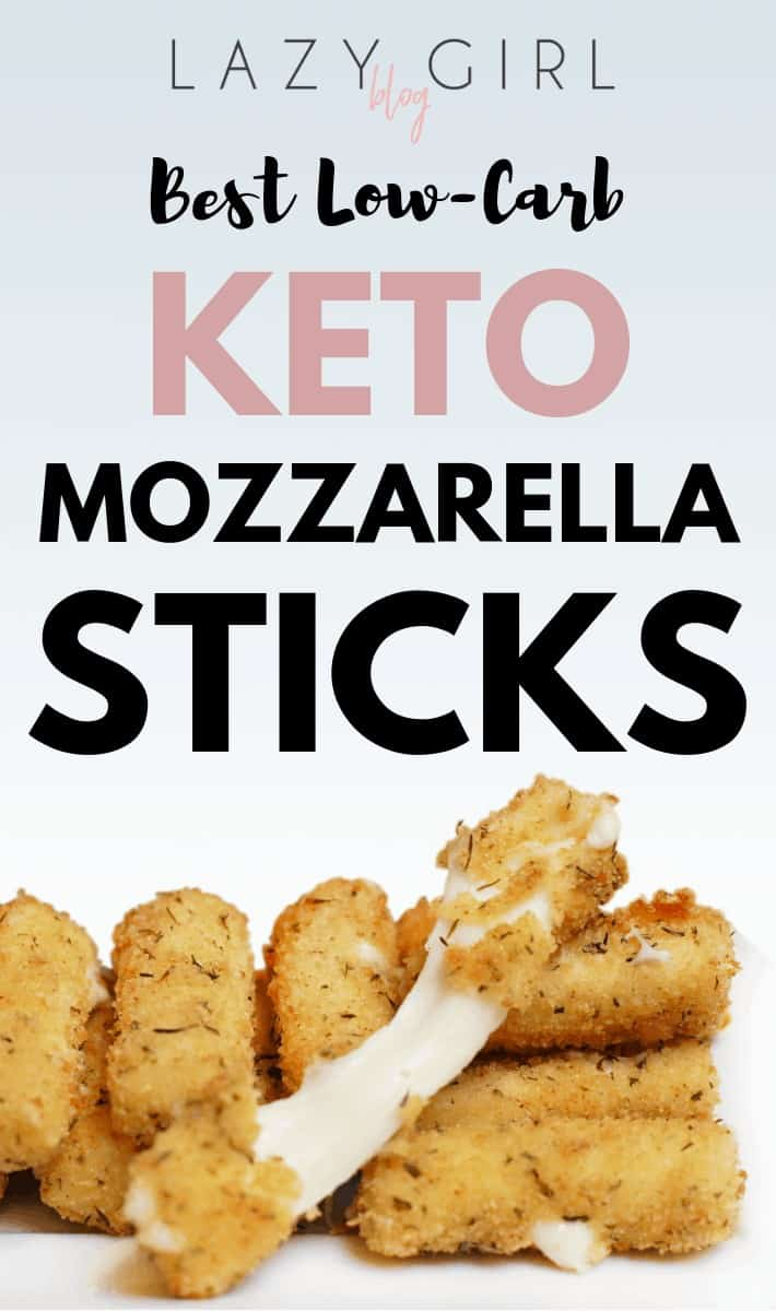 Best Low-Carb Keto Mozzarella Sticks