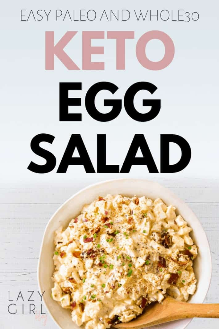 Easy Keto Salad Recipe – Keto Egg Salad