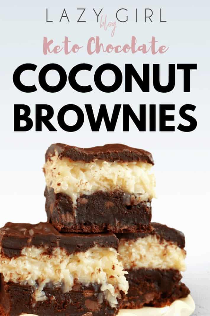 Keto Chocolate Coconut Brownies