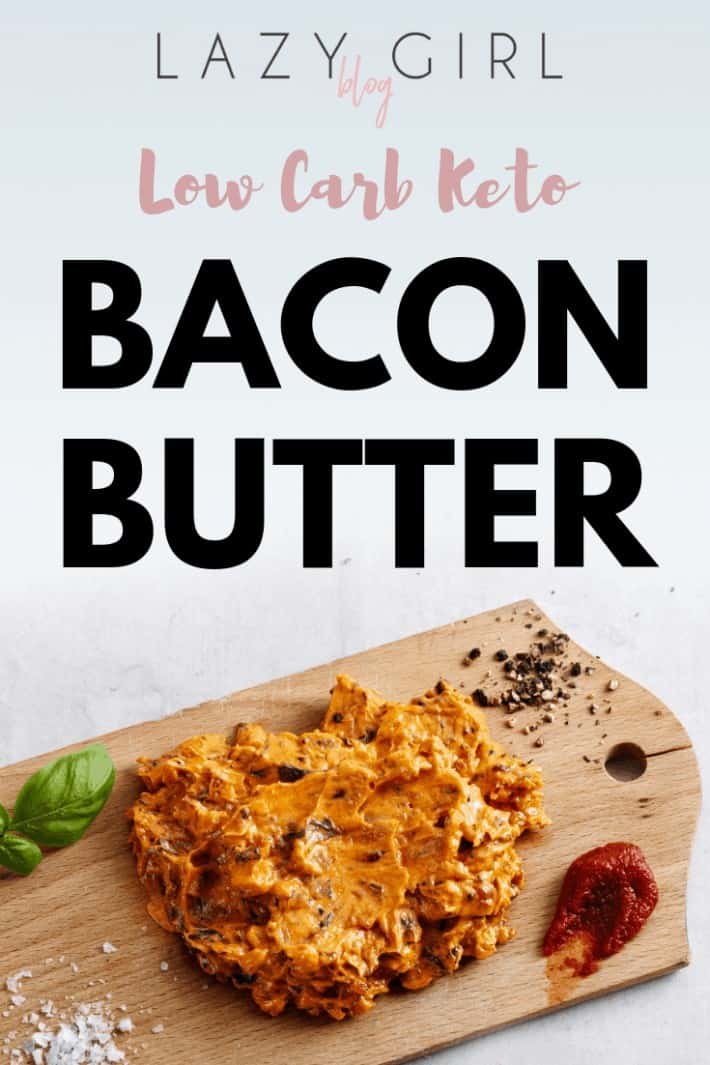 Low Carb Keto Bacon Butter
