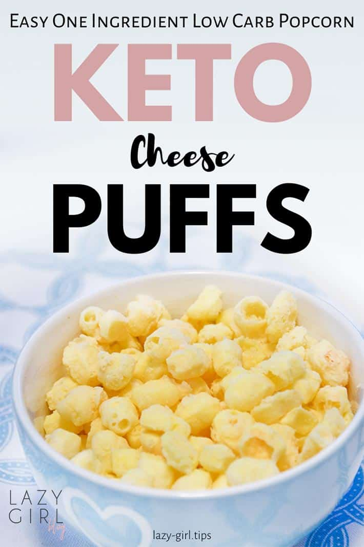 One Ingredient Low Carb Popcorn – Keto Cheese Puffs