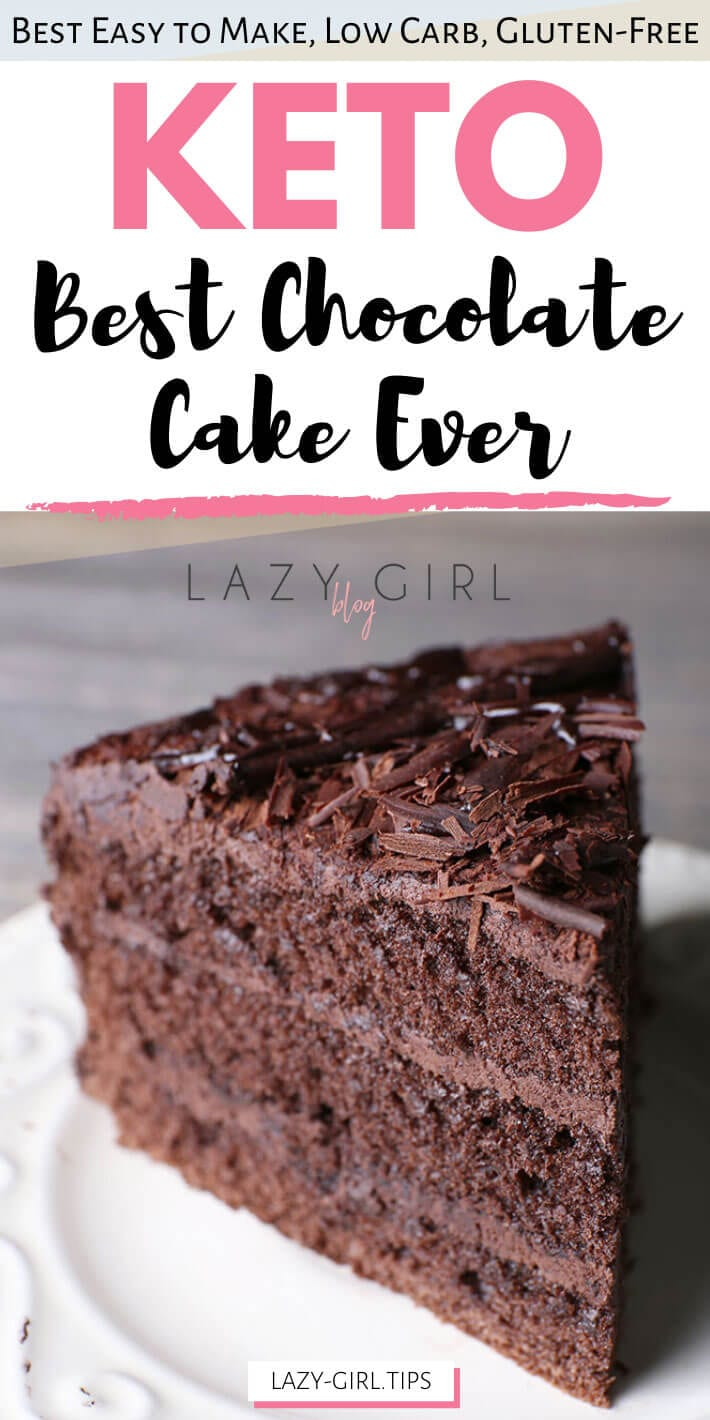 Best Keto Chocolate Cake Ever