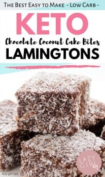 Best Keto Lamingtons