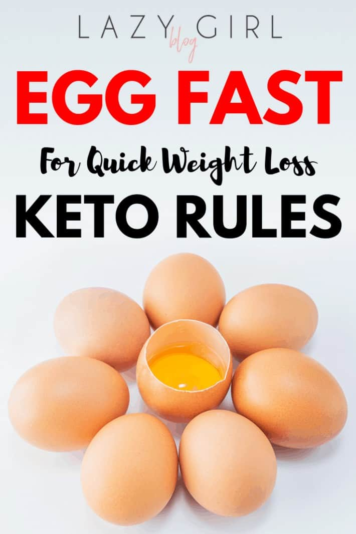 Egg Fast Keto Rules