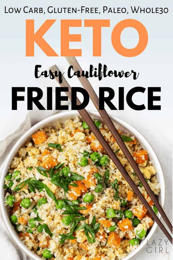 Easy Keto Cauliflower Fried Rice Recipe