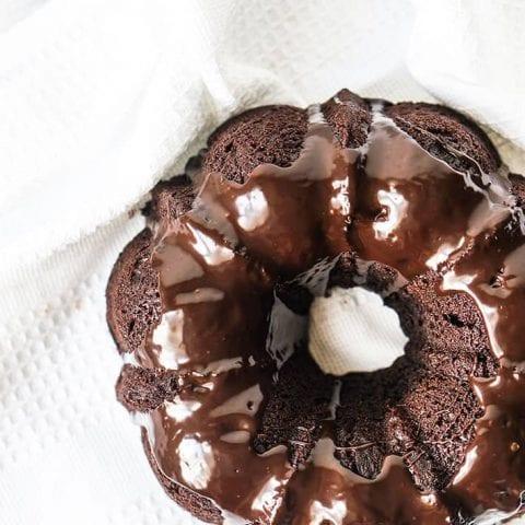 Keto Chocolate Bundt Cake Recipe
