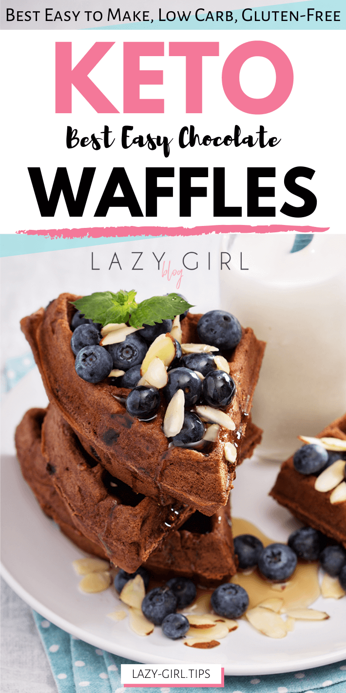 Best Easy Keto Chocolate Waffles
