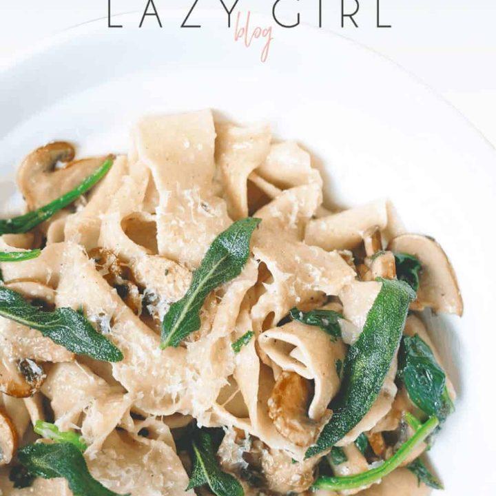 Best Easy 2 Ingredient Keto Pasta Noodles Recipe