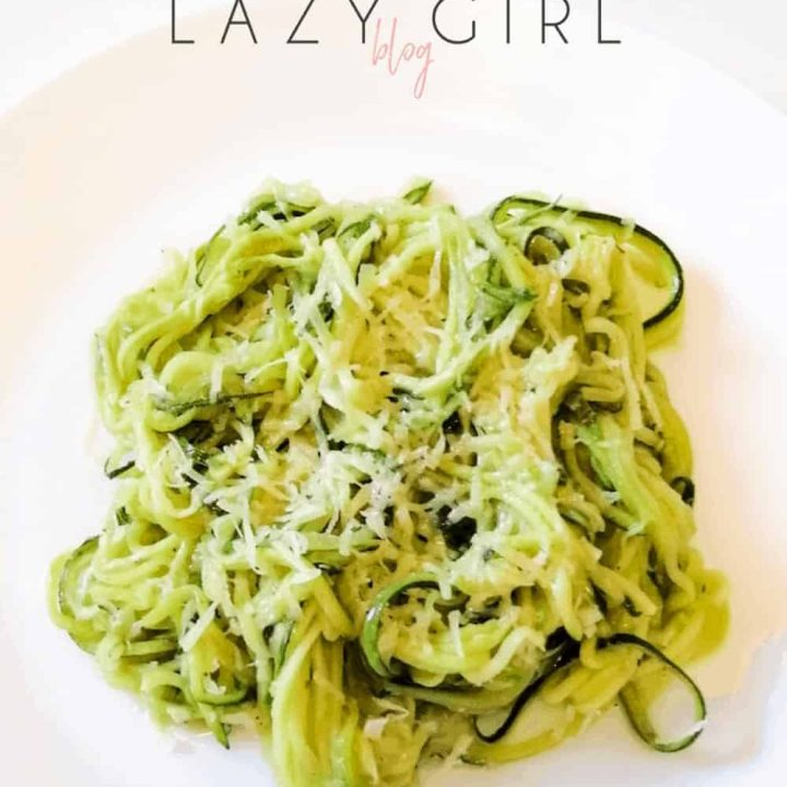 best low carb keto zucchini noodles recipe