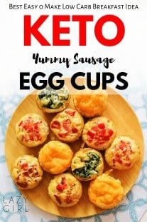 Keto Sausage Egg Cups - Easy Low Carb Breakfast Idea