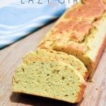 """If you miss bread, try this super simple recipe out! This is the only Keto bread recipe you'll ever need. This one is pretty close to the """"real"""" thing even with the eggs... #bestketobread"""