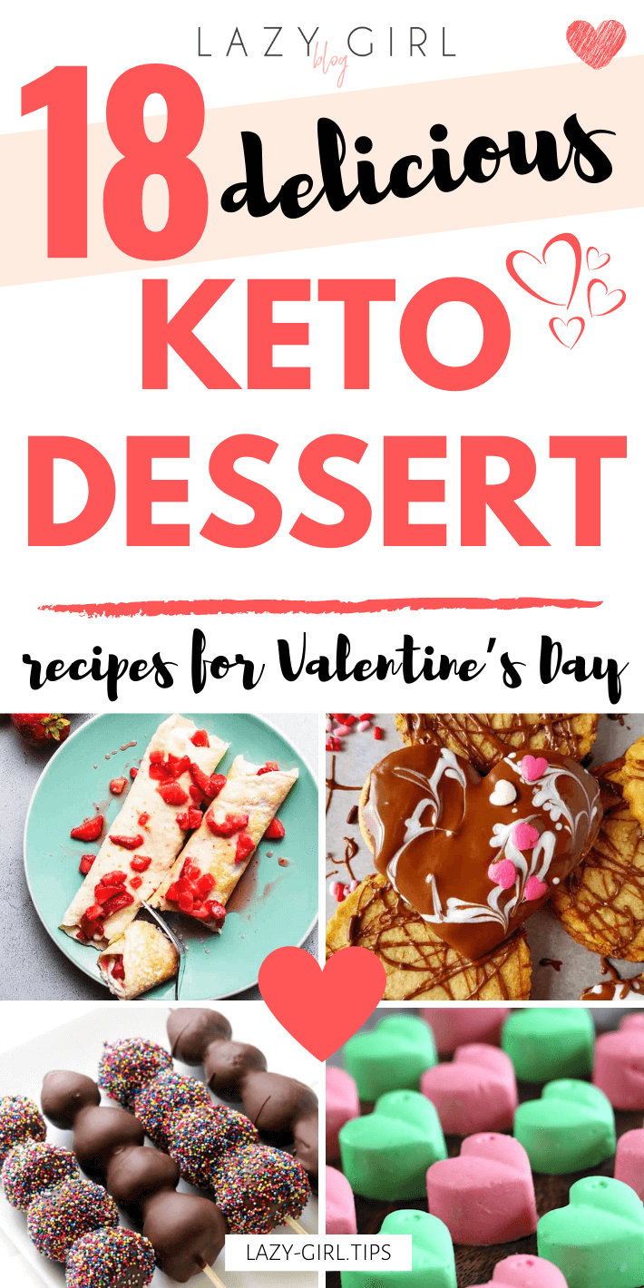 18 Delicious Keto Dessert Recipes for Valentine's Day