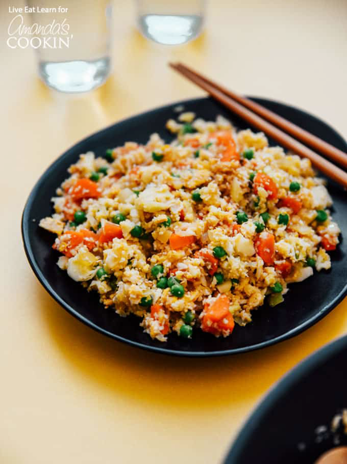 cauliflower fried rice recipe.