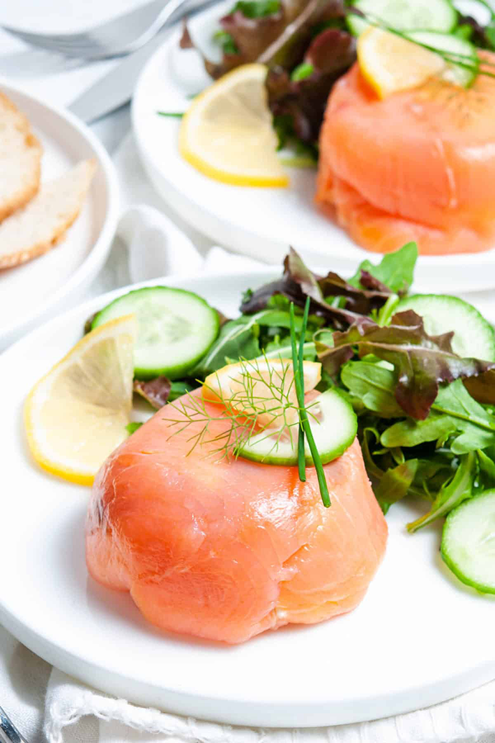 smoked salmon parcels recipe.